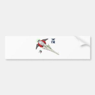Spaceship Tencho Bumper Stickers
