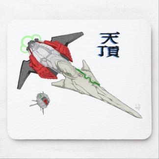 Spaceship Tencho Mousepad