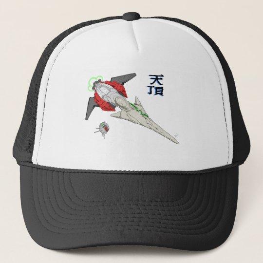 Spaceship Tencho Trucker Hat
