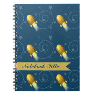 Spaceships In Outer Space Journal Notebook