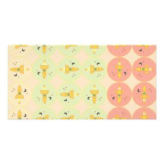 Spaceships pattern card