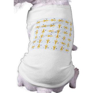 Spaceships pattern doggie shirt