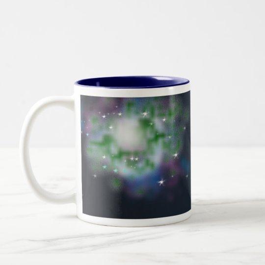 spaceshot Two-Tone coffee mug