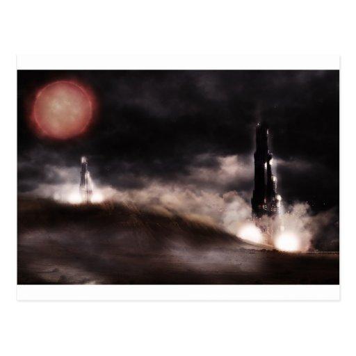 spaceshuttle tarjetas postales