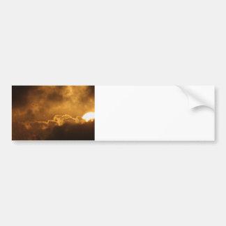 Spacetime Fracture Bumper Sticker