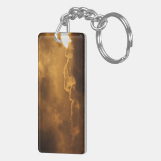 Spacetime Fracture Keychain