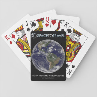SpaceToTravel Playing Cards