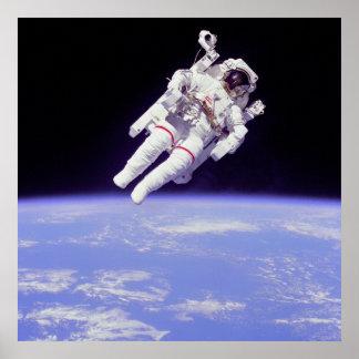 Spacewalk 1983 posters