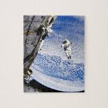 Spacewalk del astronauta puzzle