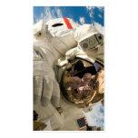 Spacewalk del vendedor de los embarcaderos tarjetas de visita
