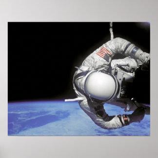 Spacewalk (Gemini 12) Poster