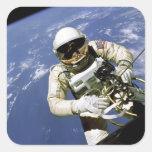 Spacewalk Square Sticker