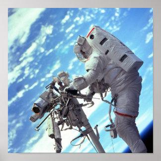 Spacewalk (STS-103) Poster