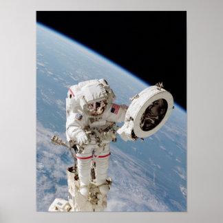 Spacewalk (STS-111) Poster