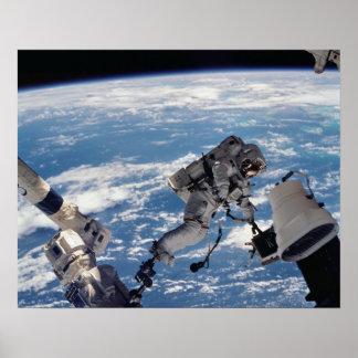 Spacewalk (STS-112) Poster
