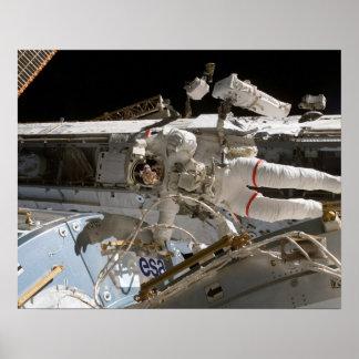 Spacewalk (STS-122) Poster
