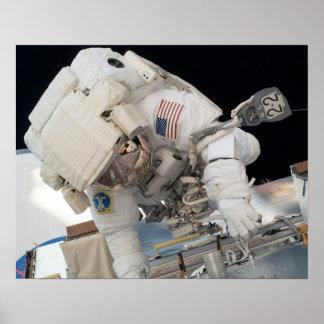 Spacewalk (STS-124) Poster