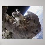 Spacewalk (STS-126) Posters