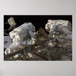 Spacewalk (STS-127) Poster