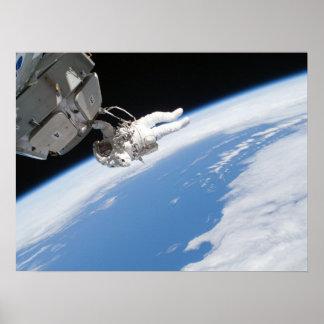 Spacewalk (STS-130) Posters