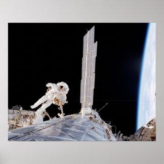 Spacewalk (STS-98) Poster