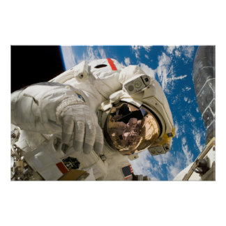 Spacewalker de la NASA Poster