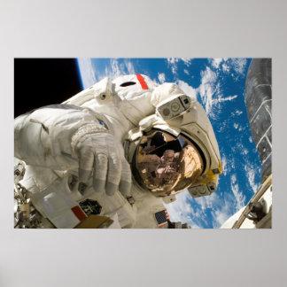 Spacewalker de la NASA Póster