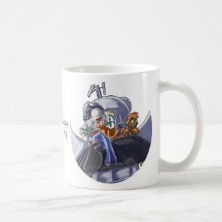 Spaceway Surfing Coffee Mug