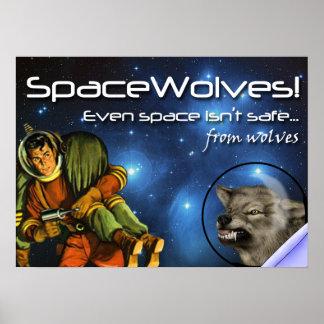 SpaceWolves El poster