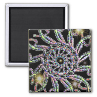 Spacey 2 Inch Square Magnet