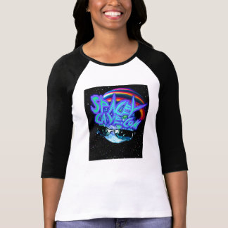 Spacey Cave.Com Long Sleeve B&W Shirt for Women