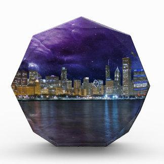 Spacey Chicago Skyline Acrylic Award