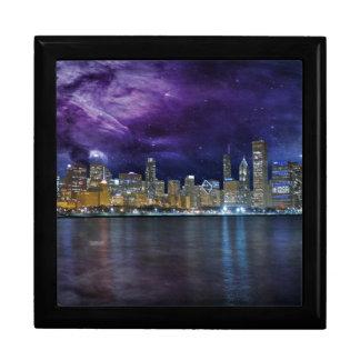Spacey Chicago Skyline Gift Box