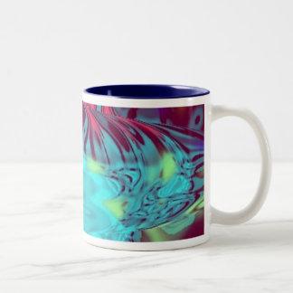 Spacey Color Orb Two-Tone Coffee Mug