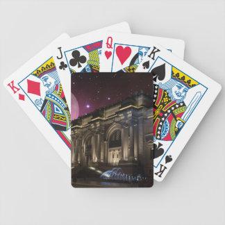 Spacey Metropolitan Museum Bicycle Playing Cards