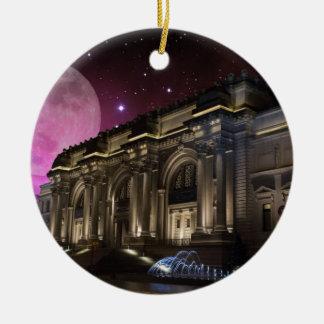Spacey Metropolitan Museum Ceramic Ornament
