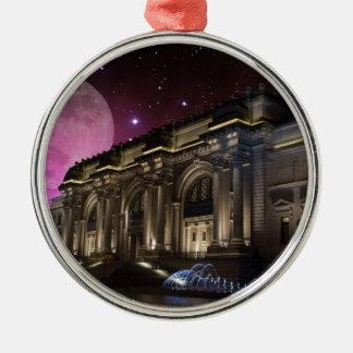 Spacey Metropolitan Museum Metal Ornament