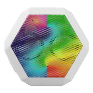 Spacey Nebula Rainbow White Boombot Rex Bluetooth Speaker