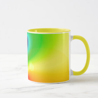 Spacey Nebula Rainbow Mug