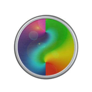 Spacey Nebula Rainbow Speaker