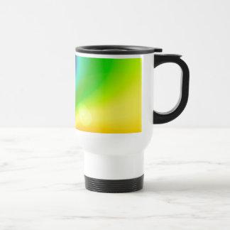 Spacey Nebula Rainbow Travel Mug