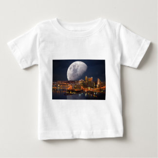 Spacey Pittsburgh Baby T-Shirt