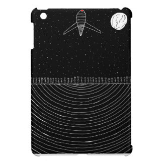 Spacey, simplistic design cover for the iPad mini