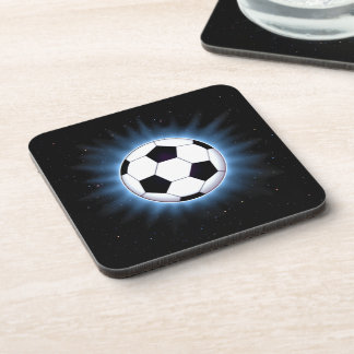 Spacey Soccer Ball Coasters (set of 6)