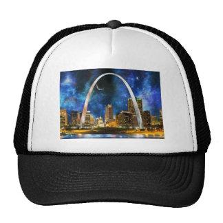 Spacey St. Louis Skyline Trucker Hat