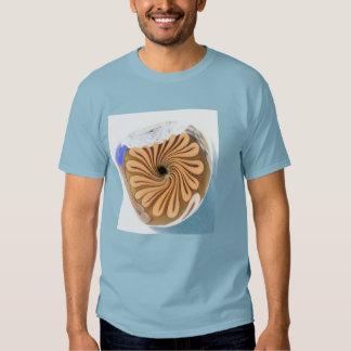 spacey swirls t-shirt