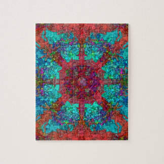 Spacey Trippy Hippy Surrealist Image Jigsaw Puzzle