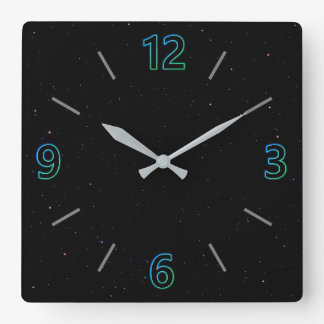Spacey Wall Clock