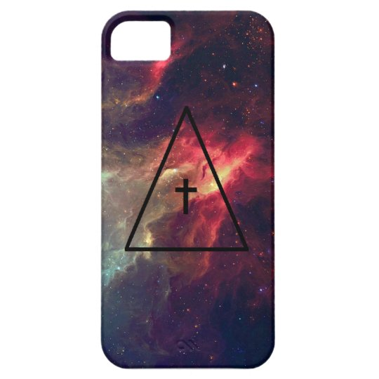 Spacial Cross iPhone SE/5/5s Case