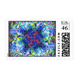 Spacial Warp Postage Stamp